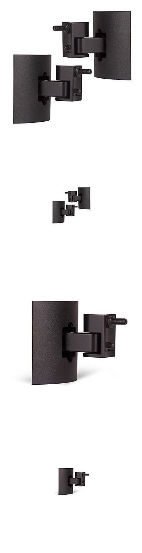 Speaker Mounts and Stands: Bose Ub-20 Series Ii Black Wall/Ceiling Bracket (Black 2-Pack) BUY IT NOW ONLY: $68.0