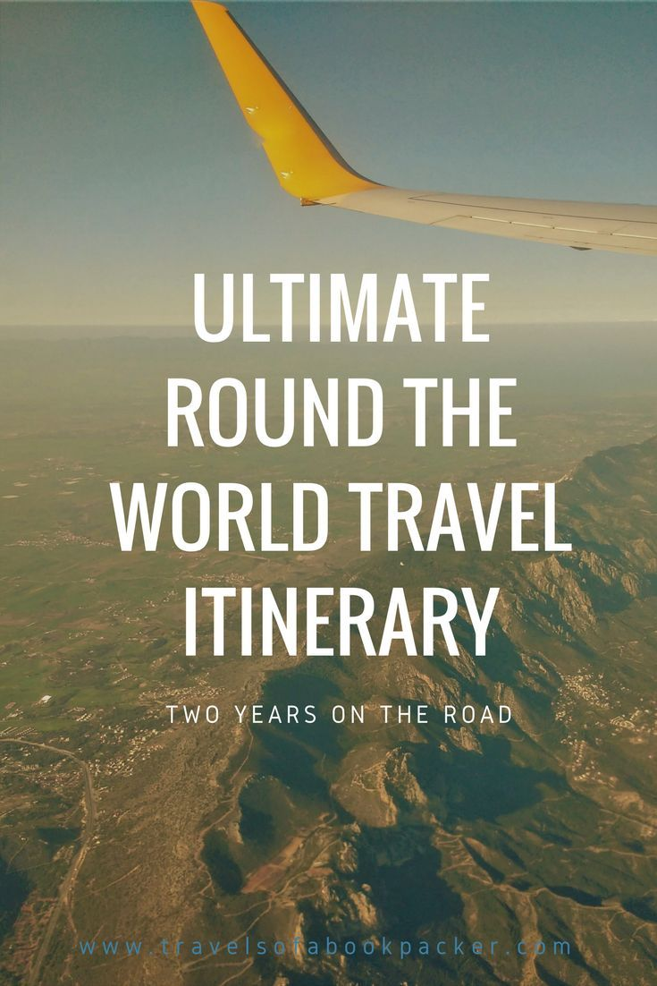 Round the World Trip for at least two years