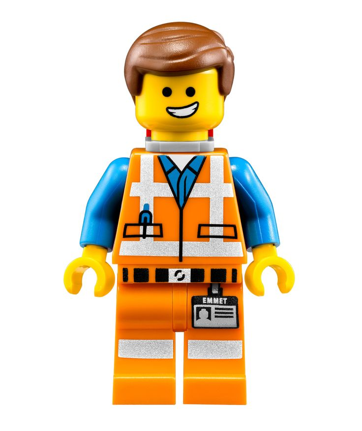 Emmett Lego Character Furniture Or Wall Totally Movable Stickers