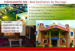 Vighnaharta Inn Hotel: Conference Hall in Shegaon http://vighnahartainn.com/