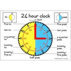 24 Hour Clock: A3