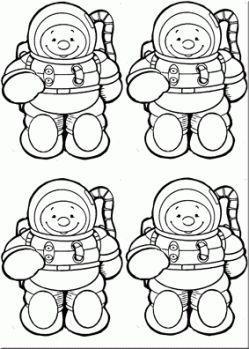 RECURSOS DE EDUCACION INFANTIL: MARIONETAS DE ASTRONAUTAS