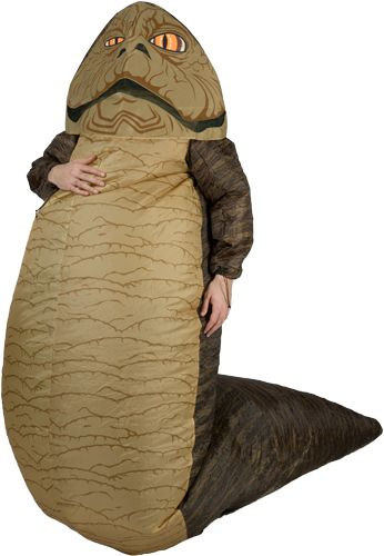 Jabba The Hutt Costume. holy crap!