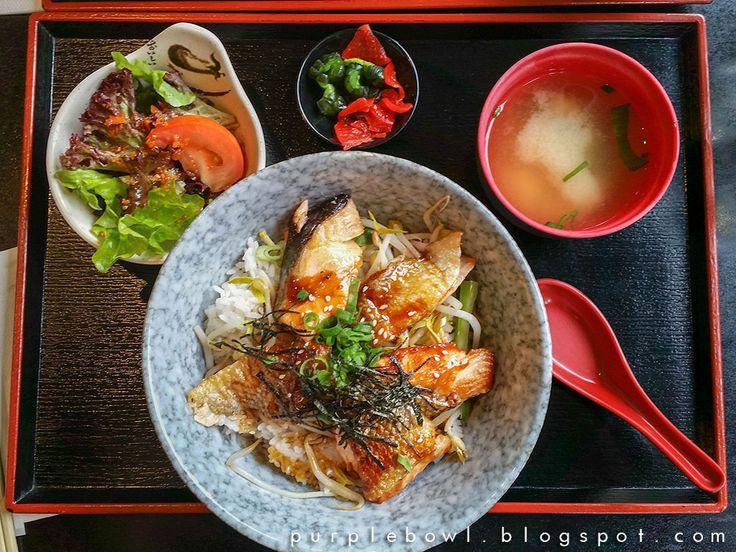 Purple bowl: Meshiya restaurant review
