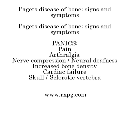 pagets bone disease essay Essay bone diseases most directly influence the ability to walk or to move any part of the body--hands, limbs, neck, and spine they are related to joint disorders--arthritis, collagen disease, dislocation of joints, and rheumatism.
