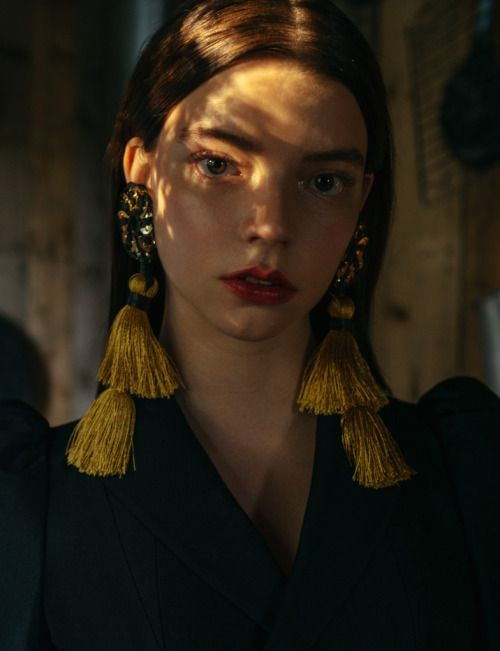 Anya Taylor Joy photographed by Paul McLean for...