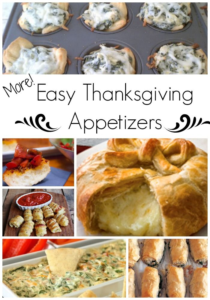 Well, you asked for it, so here you are - MORE easy Thanksgiving appetizers - Bon Appetit!!