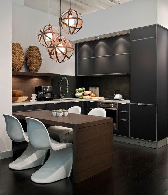 condo residence on spruce street - modern - kitchen - vancouver - kodu design
