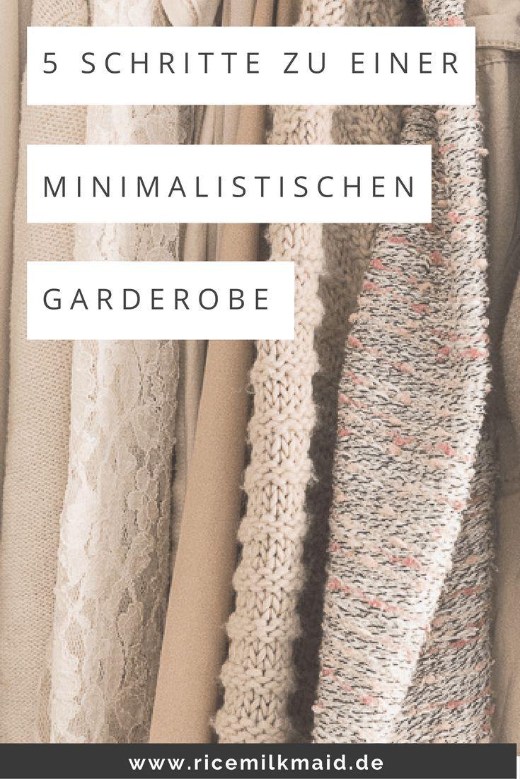 Minimalistische Garderobe: Kleiderschrank ausmisten