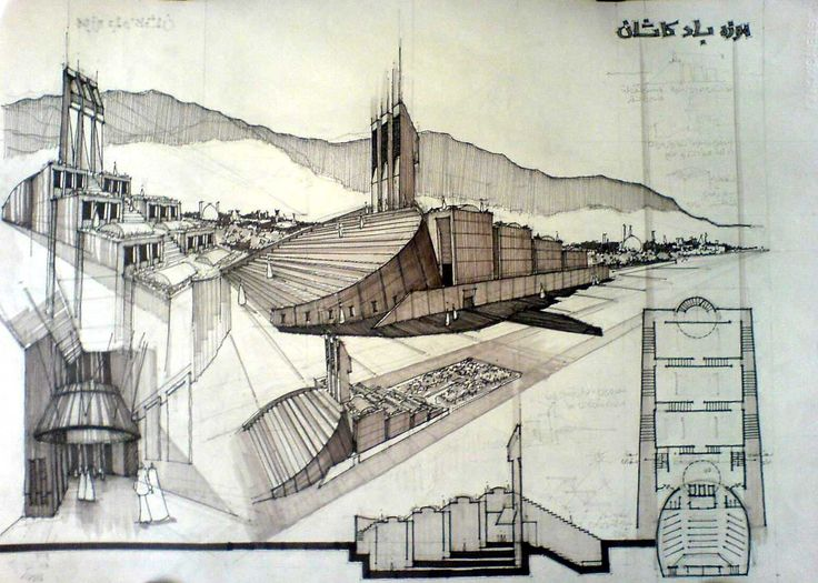 Line Drawings From D Models : Best draw architectural images