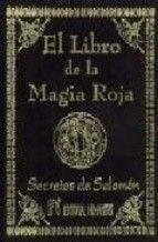 el libro de la magia roja. secretos de salomon-9788479102418
