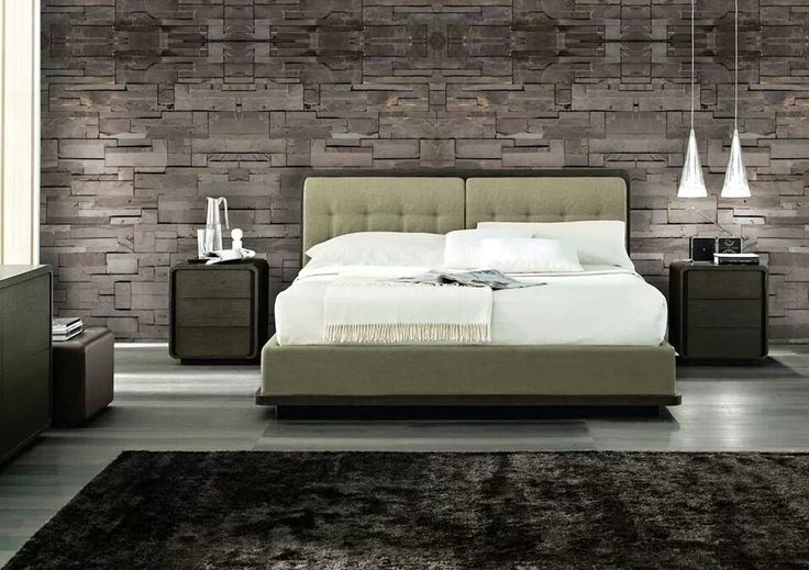 the classic stone wallpaper ideas for my dream bedroom