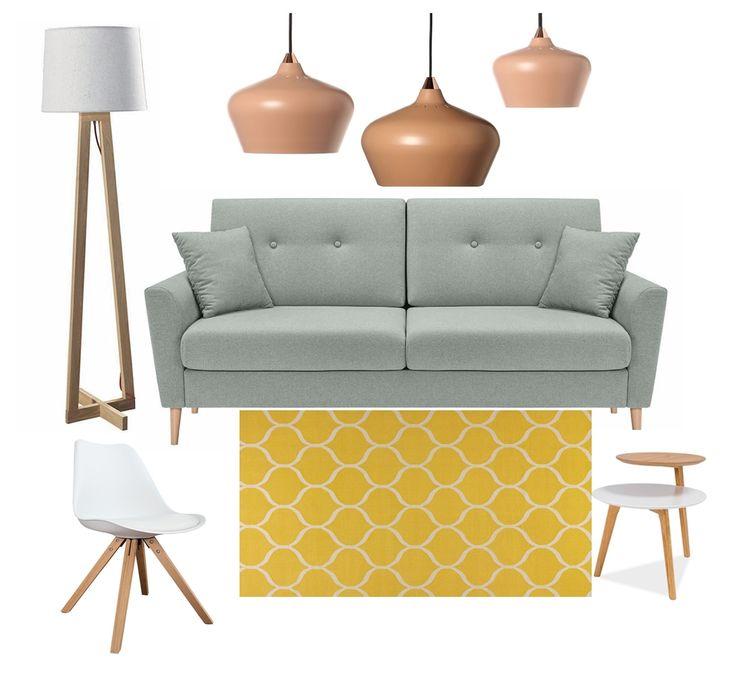 Készültem egy sorozattal, amiben népszerű stílusokat mutatok be kereskedelmi forgalomban kapható bútorokkal. 🛍🛒🛋 Elsőként egy skandináv hangulatú montázst hoztam: álló lámpa: elter.hu függőlámpa: innoshop.hu kanapé: butor1.hu dohányzóasztal: premiumbutor.hu szőnyeg: ikea.hu szék: pefect-design.hu