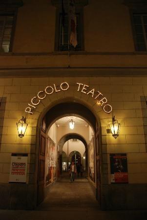 Caffe Letterario @Piccolo Teatro, Milan. Great Aperitivo in the heart of the city.
