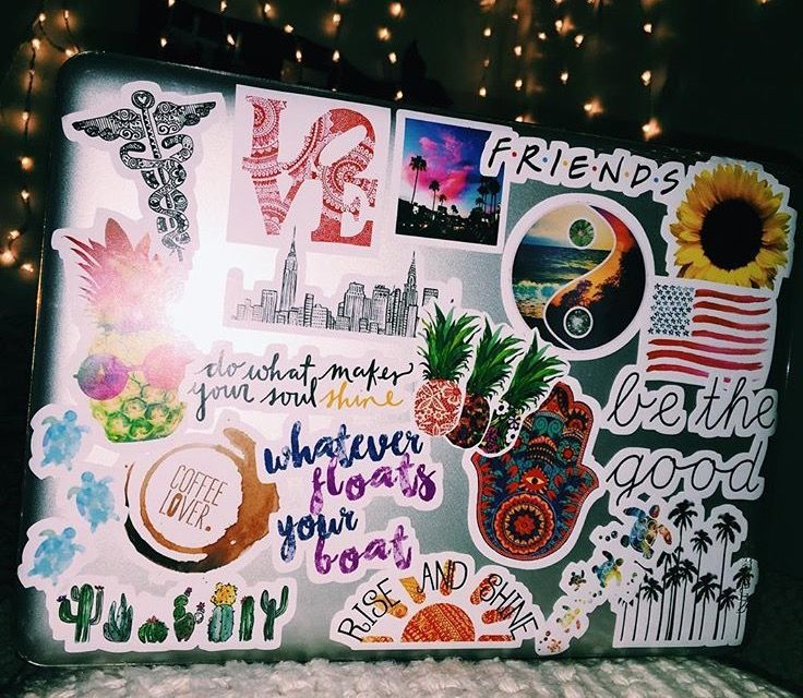 And interest hobby that i have is that i collect sticker from places i go to put on my laptop