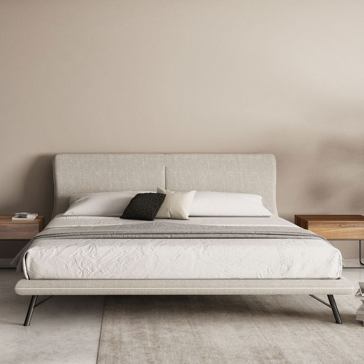 Fresh Contemporary Low Profile Bed