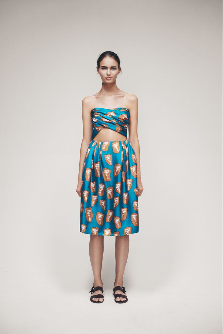 Samuji Spring 2015 Ready-to-Wear - Collection - Gallery - Look 1 - Style.com