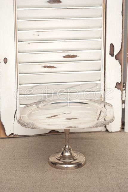 Silver Cake Stand 10