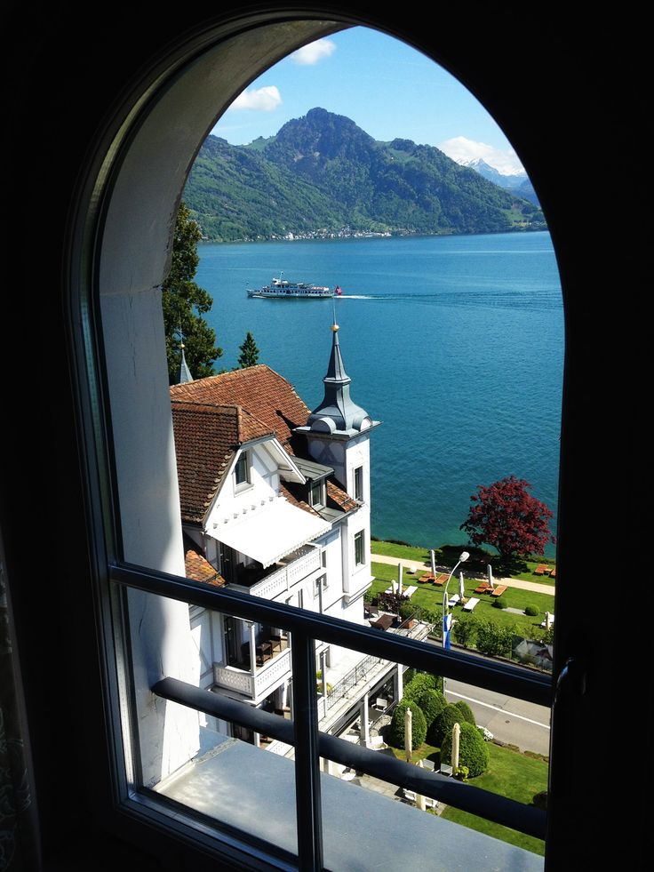 Park Weggis, Weggis, Switzerland. #RelaisChateaux #Summer #ParkWeggis #LakeLucerne