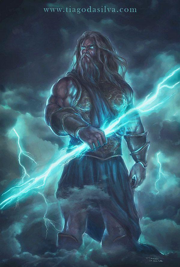 94 best images about I... Zeus Digital Painting