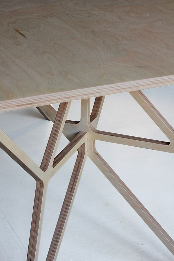 "uoudesign: "" table - dontDIY """