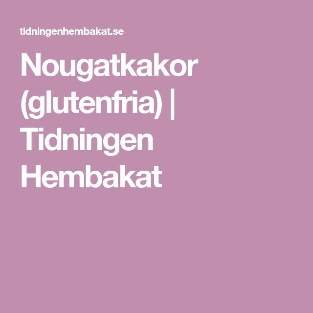 Nougatkakor (glutenfria) | Tidningen Hembakat