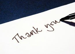 16 best Thank You Letters
