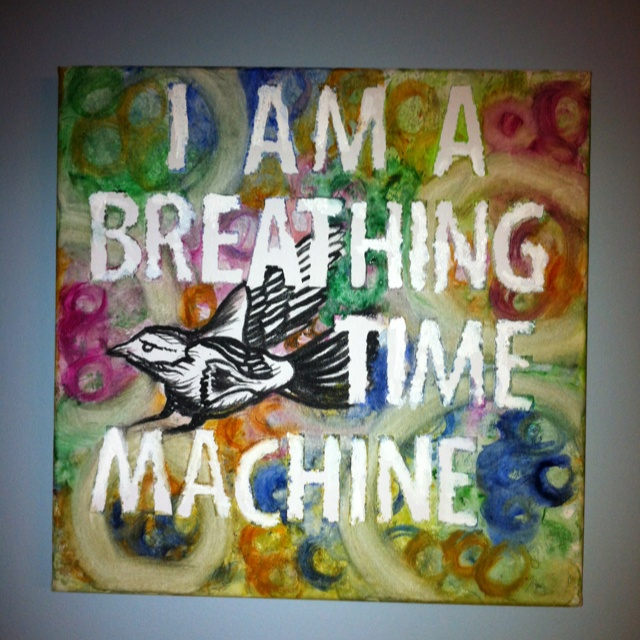 A great lyric from one of my favorite Avett Bros. songs.