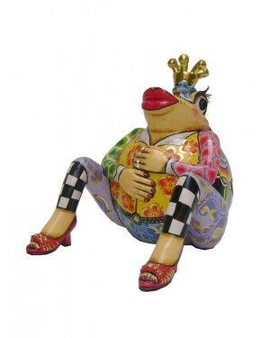 Escultura Sapo Martin - Thomas Hoffman #tomsdrag #thomashoffman #decoracao #escultura #amandapresentes #sapo #martin