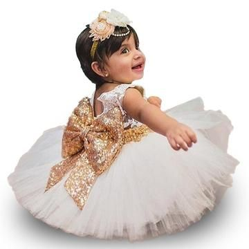 244cc5b69 Baby Girl Birthday Dress 9M-24M 1 Years Baby Girls Birthday Dresses 2018  New Lace