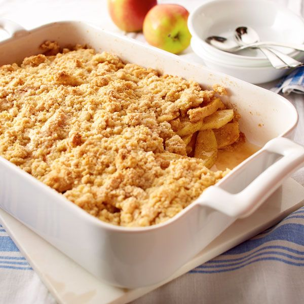 Apple cobbler may become one of your favorite apple desserts once you try this recipe. Serve this old-fashioned crunchy cobbler warm, with a scoop of ice cream.