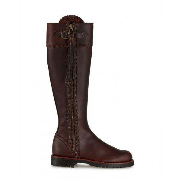 Penelope Chilvers Women S Long Leather Tassel Boots Conker Boots Boot Shoes Women Penelope Chilvers