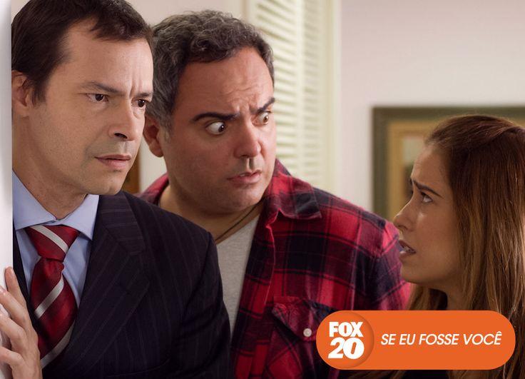 Clarice, Toninho e Heitor se intrigam com o retorno de Lucas, uma antiga paixão de Clarice. Se Eu Fosse Você - Quartas, 22H30  #EuCurtoFOX Confira conteúdo exclusivo no www.foxplay.com