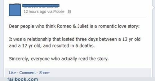 The hard truth about Romeo & Juliet