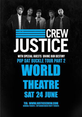 World Theatre Charters Towers: JUSTICE CREW [LIVE] tour 7pm SAT 24 JUNE 2017