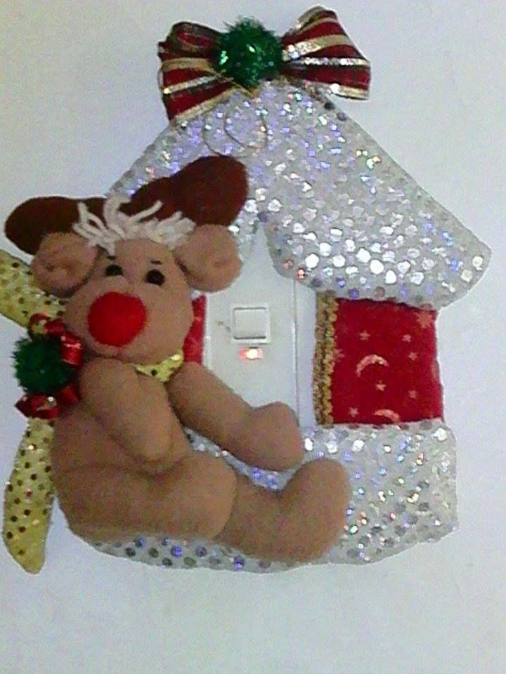 Para los suiches mu ecos navide os pinterest mu ecos - Buscar manualidades de navidad ...