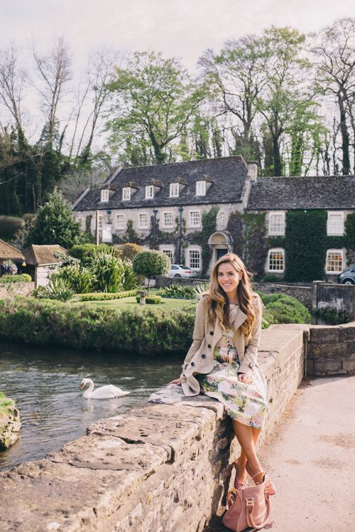 The Swan Hotel, Bibury, the English countryside