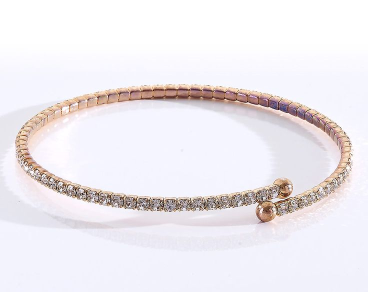 Gold Sparkle Bracelet £14  These thin crystal bangles are perfect for all size wrists and brings a sparkle to any outfit. There are no clasps which makes them easy to wear. The bangle comes in rose gold colour, gold colour and silver colour. They look fabulous when worn together. Made with CRYSTALLIZED TM Swarovski elements.  Code: 798797  Kleeneze KLife Women Girls