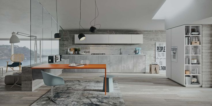 Custom made modern Italian kitchens by CopatLife. Exclusive NYC distributor, visit our showroom for more details.