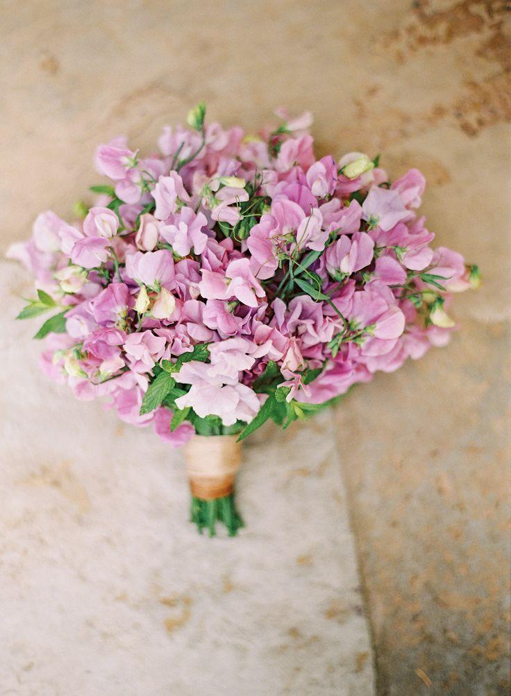 73 best Sweet Pea Wedding Flowers images on Pinterest | Bridal ...