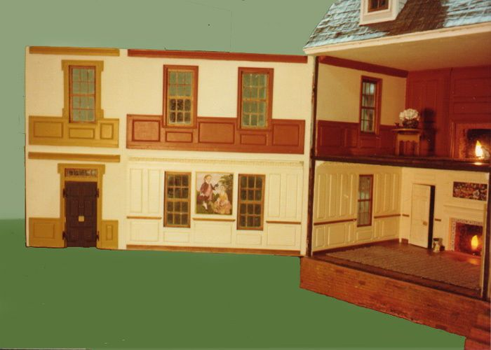 I Couldn T Resist This Vintage Colonial Dollhouse From The: 44 Best Doll Room Images On Pinterest