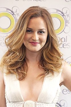 Leighton Meester Lightened Her Hair Nail Polish Sales