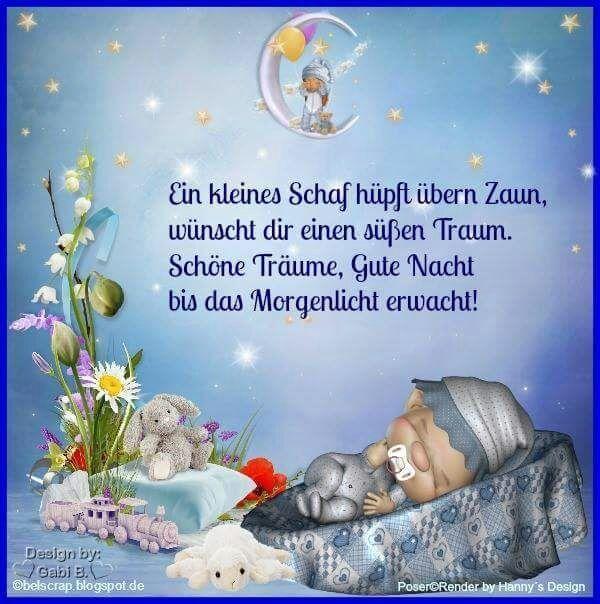 Schlafe Gut Und Vergiss Das Traumen Nicht Gute Nacht Gute Nacht