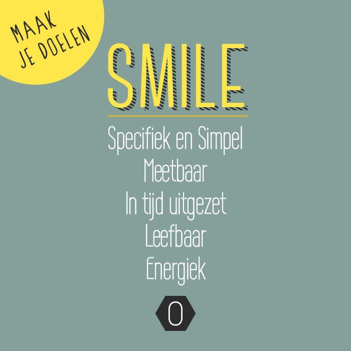 Maak je doelen SMILE   Strategie concreet maken voor creatieve ondernemers   OCHER