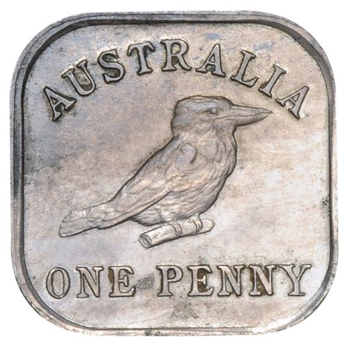 One of Australia's greatest rarities, with a mere 200 coins struck, the 1919-21 Kookaburra Square Pattern Series is one of the most important, most sought after elements of Australian numismatics. $49,500.00