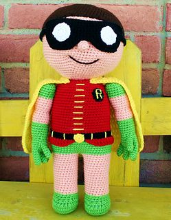 """This Buddy, is the perfect companion for that special little hero-loving boy or girl in your life! He is 18"""" tall and so much fun to hold and cuddle!"""