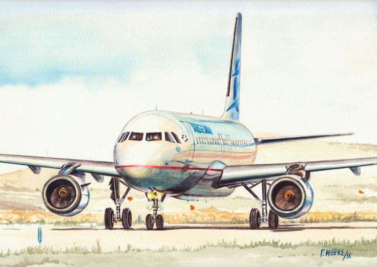 A-320 Aegean Airlines – Moris Georgios / Μώρης Γεώργιος