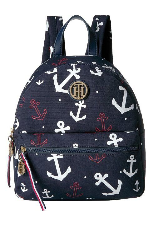 Tommy Hilfiger Tommy Falling Anchor Backpack (Navy) Backpack Bags - Tommy Hilfiger, Tommy Falling Anchor Backpack, 6937225-423, Bags and Luggage Backpack, Backpack, Bag, Bags and Luggage, Gift, - Fashion Ideas To Inspire