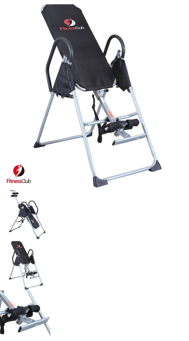 Inversion Tables 112954: Foldable Inversion Table Invert Align Chiropractic Therapy Fitness Back Relief BUY IT NOW ONLY: $82.9