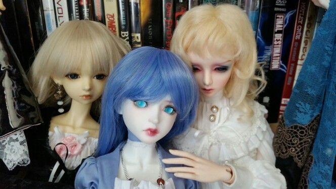 From the left,  Phoebe, Luna & Amelia